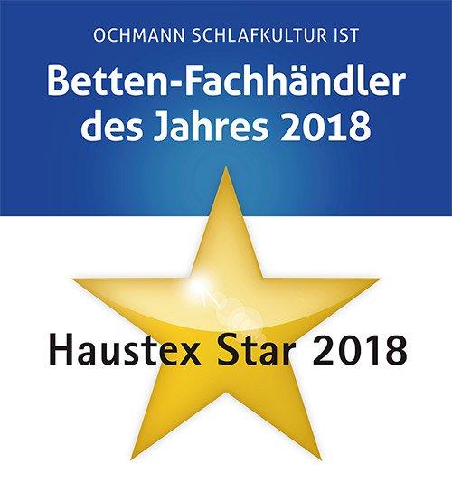 Bettenhändler des Jahres - Haustex Star 2018