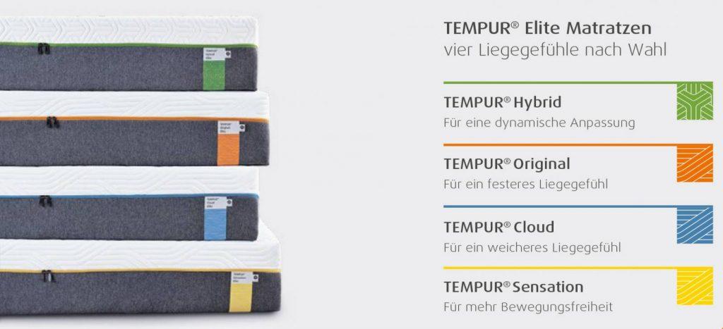 Tempur Schlafsystem kaufen und kräftig sparen